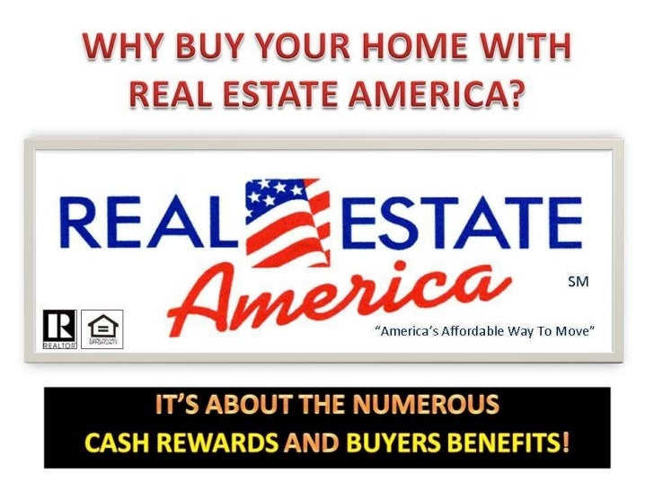 Why Buy Your Home with Real Estate America
