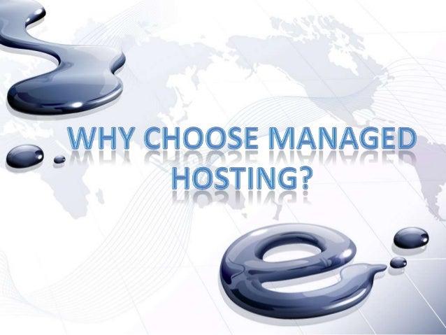 Managed Hosting A dedicated hosting service, dedicated server, or managed hosting services is a type of Internet hosting i...
