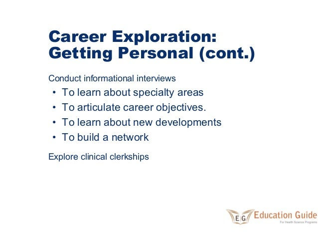 I have a question about getting a career in medicine?