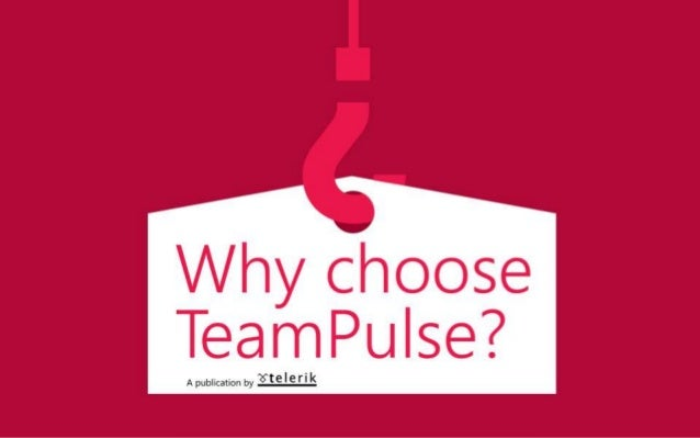 Telerik TeamPulse is an all-in-one agile project management solution that allows you to manage requirements & bugs, plan r...
