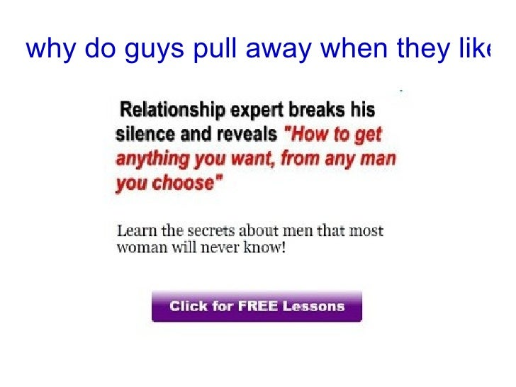 why does a man suddenly end relationship