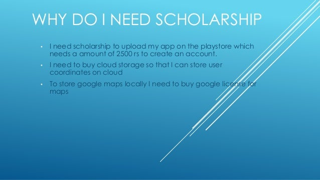 I need more information on Scholarships?