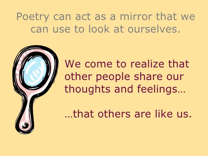 People and Poetry?? why?