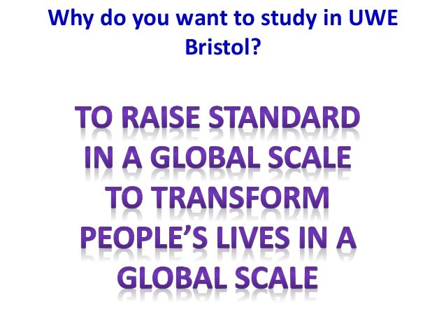 Why do You want to study at university?