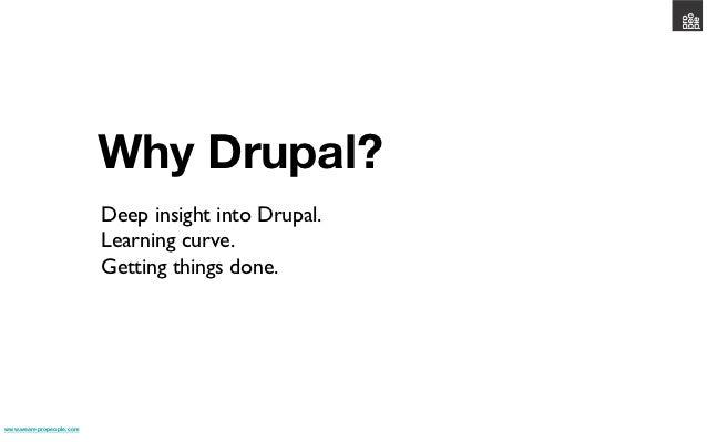 Why drupal