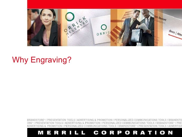 Why Engraving?