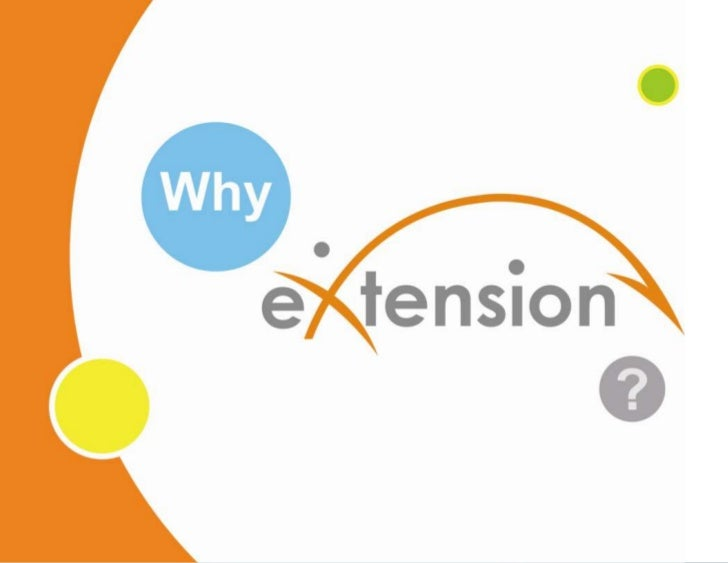 Why eXtension