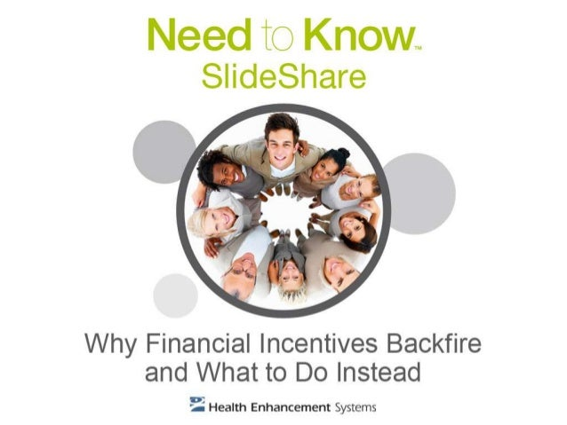 Why Financial Incentives Backfire and What to Do Instead