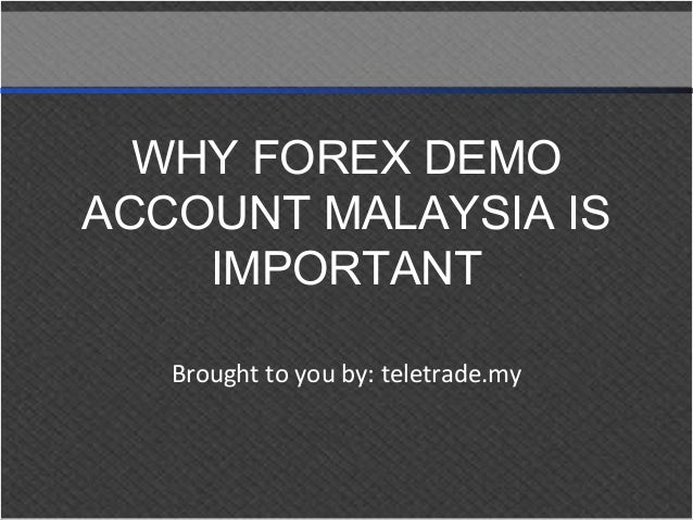 Account demo forex