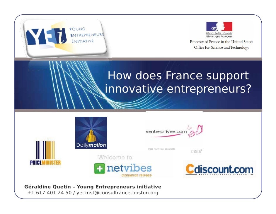 How does France support                              innovative entrepreneurs?                                            ...