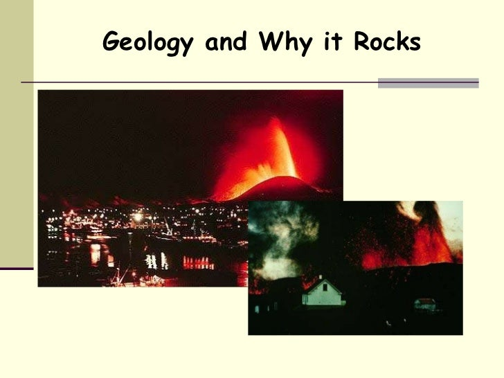Geology and Why it Rocks