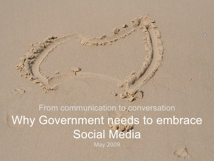 Why Government Needs To Embrace Social Media