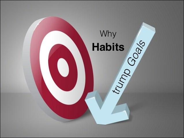 Why Habits Trump Goals