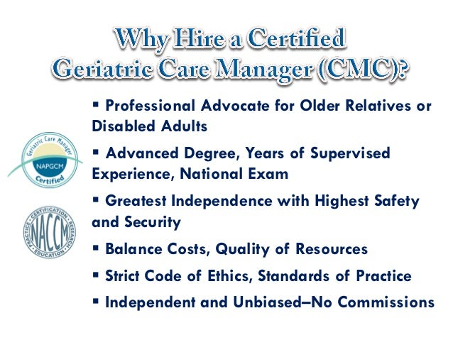 Geriatric Care Manager - emergency room Archives - CDH Partners CDH ...