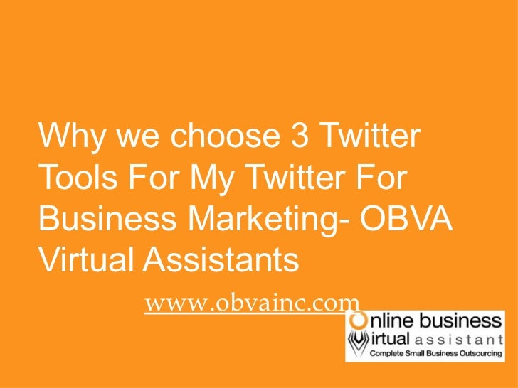 Why i choose these 3 twitter tools for my twitter for business marketing