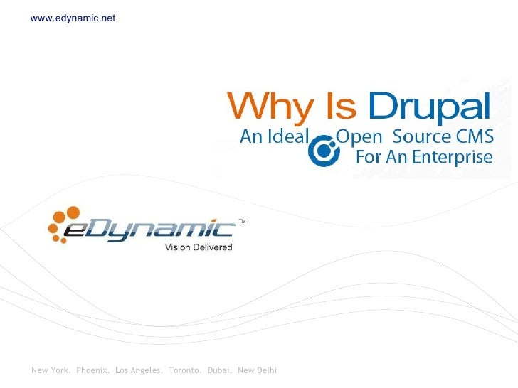 Drupal – An Ideal Open Source Content Management System