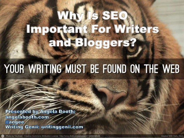 Why Is SEO Important for Writers and Bloggers?