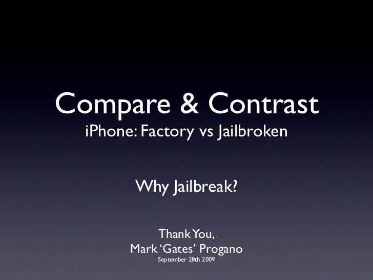 Why Jailbreak