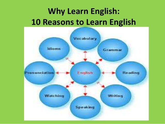 why is important to learn english Learning english as a second language is necessary if you want to be a translator, or live in or trade with an english-speaking country many international concerns conduct business in english .