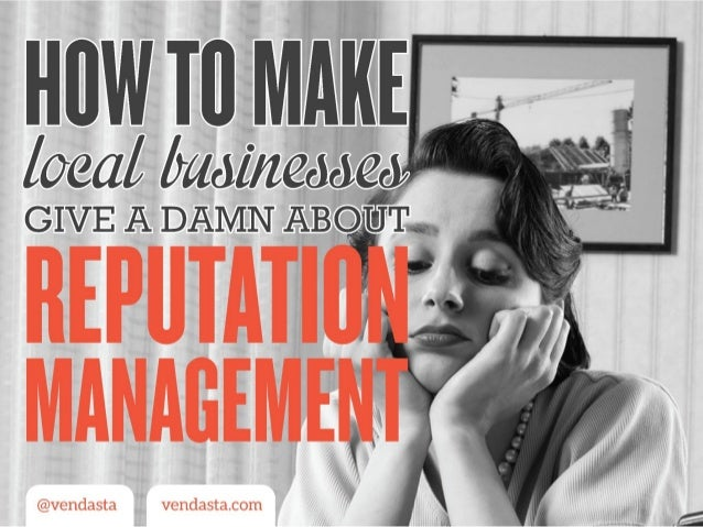 Why Local Businesses Need Reputation Management