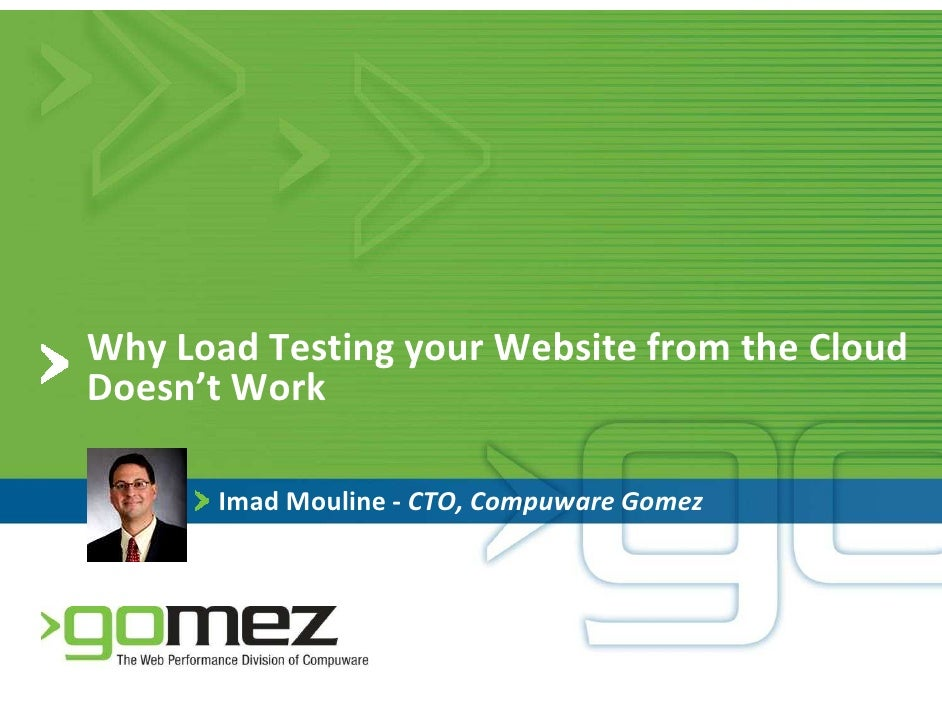 Why Load Testing from the Cloud Doesn't Work