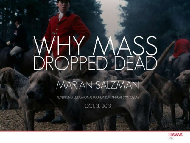 Why Mass Dropped Dead