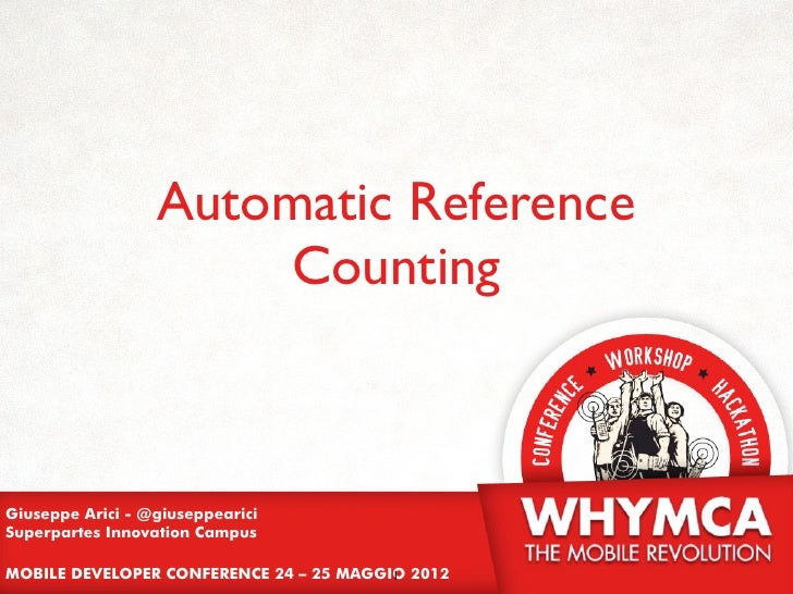 Automatic Reference Counting