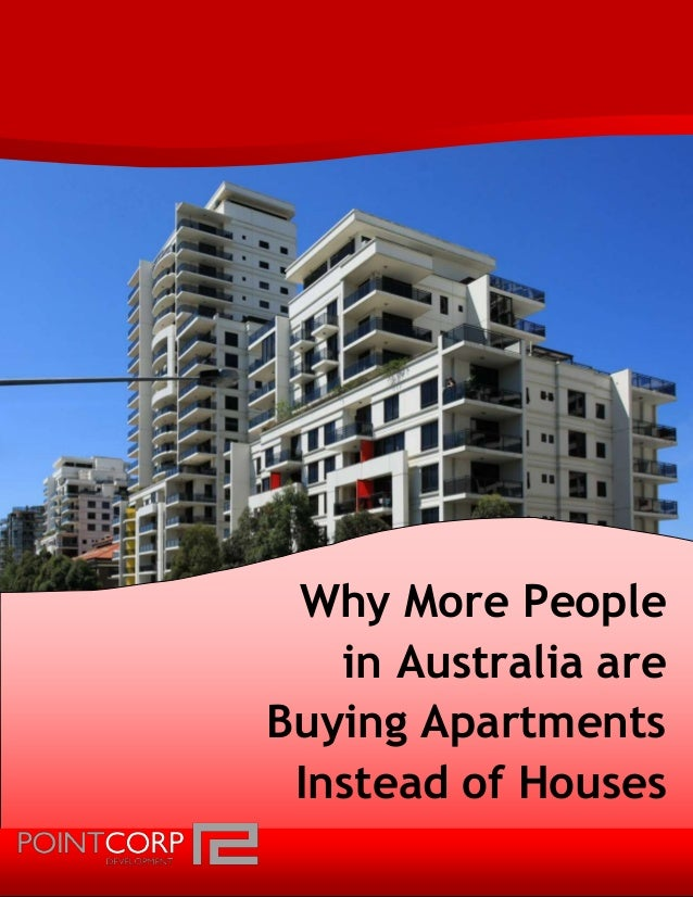 Why More People In Australia Are Buying Apartments Instead
