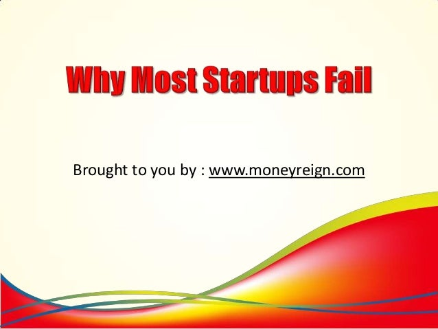 Why Most Startups Fail