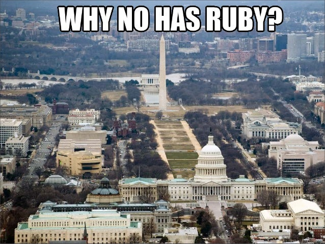 Why no ruby in gov?