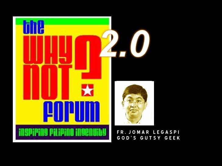 WhyNot02 Fr Jomar Legaspi
