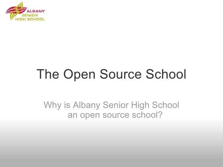 The Open Source School