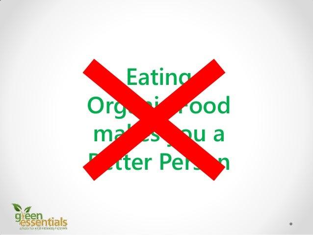 The Big Benefits of Eating Organic