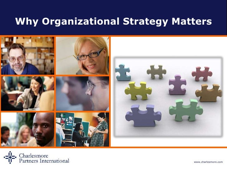 Why Organizational Strategy Matters<br />
