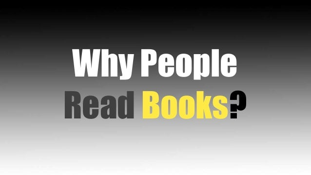 Why people read books