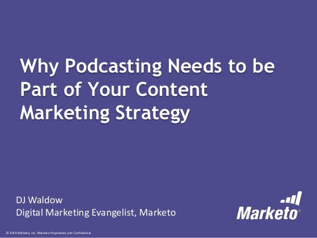 Why Podcasting Needs to be Part of Your Content Marketing Strategy