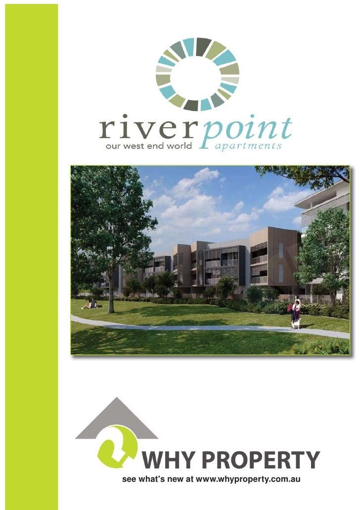 Riverside Development - Why Property Australia