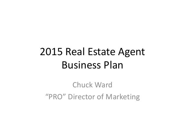 business plan for real estate agents