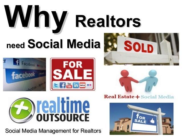 Why Realtors Need Social Media to Sell more Homes