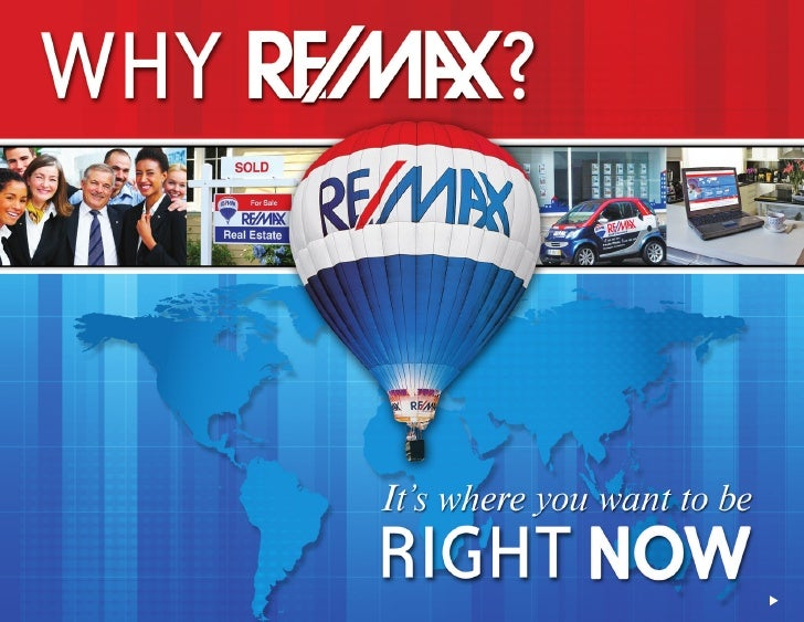 Contents                                       Each section heading is a link to that section   RE/MAX Overview           ...