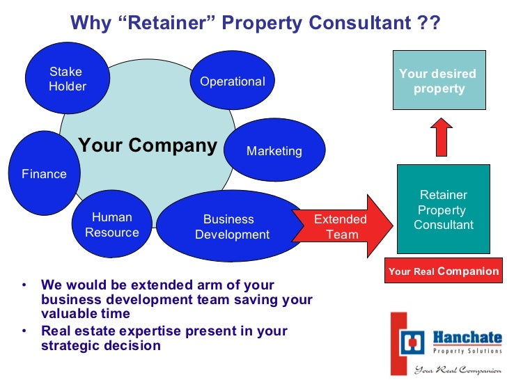 Property Development Consultants : Why retainer property consultant commercial