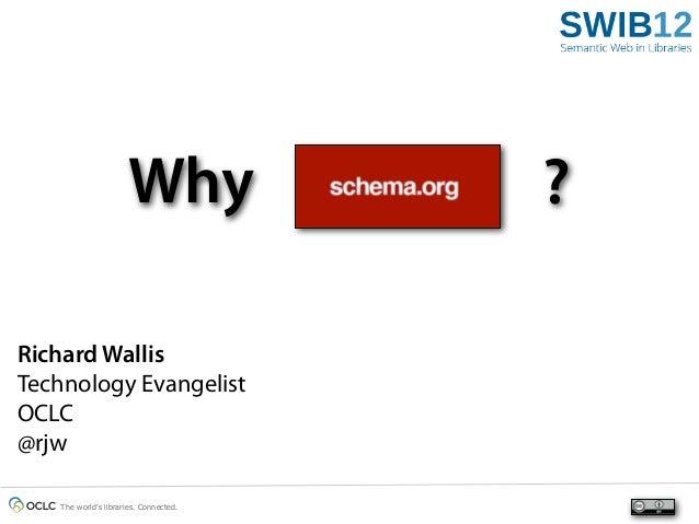 Why schema.org