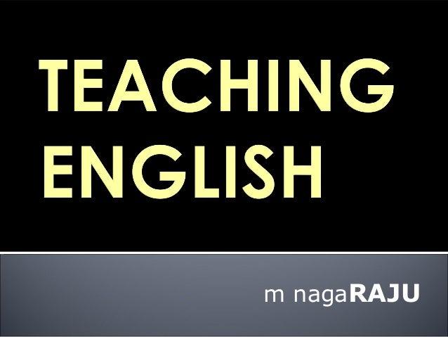 Why Should School Teachers Learn English?