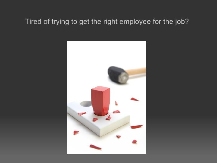 Why Should You Should Employ Me