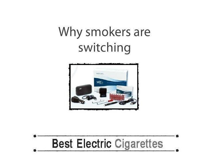 Why smokers are switching