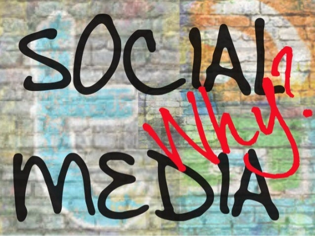 """Why Social Media?"" A Trend Report & by Social Media Expert Lesley Scott of Fashiontribes.com"