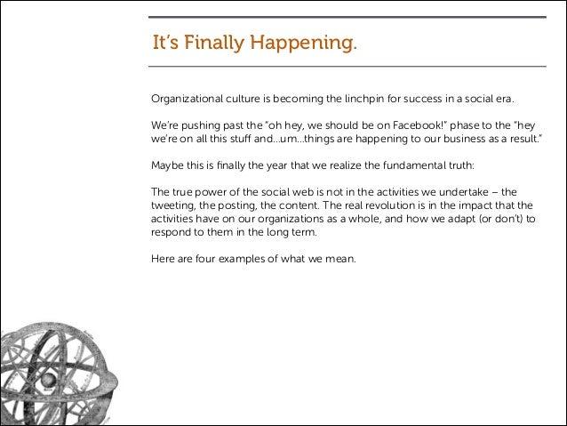 Facebook Organizational Culture Organizational Culture is
