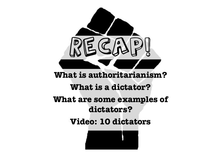 Why Study Dictators: Research Project