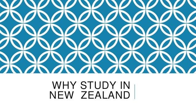 WHY STUDY INNEW ZEALAND
