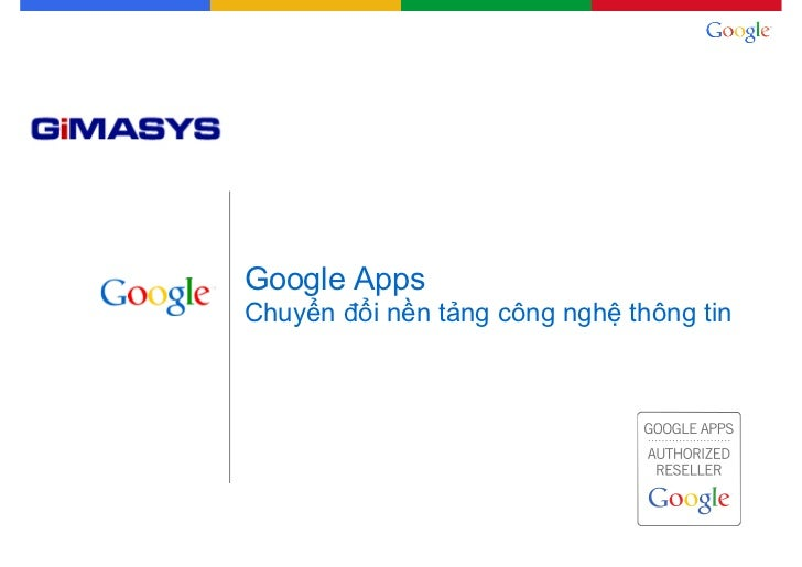 Why switch to google apps vn